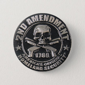 2nd Amendment Medal 2 Inch Round Button
