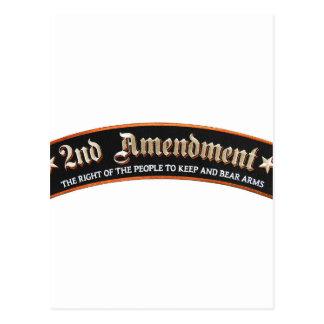 2nd amendment postcard