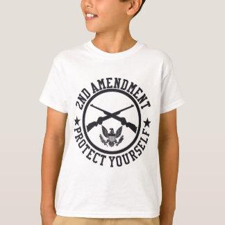 2nd Amendment Protect Yourself U.S. Custom Ink T-Shirt