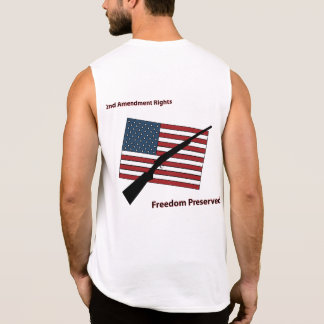2nd Amendment Rights Sleeveless Shirt