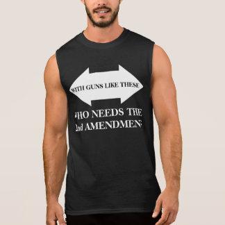 2nd Amendment. Sleeveless Shirt