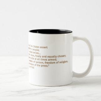 2nd Amendment Thomas Jefferson Founding Father Mug
