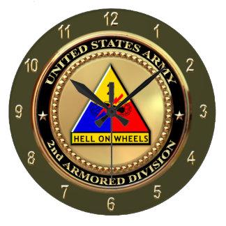 2nd Armor Division Wallclock
