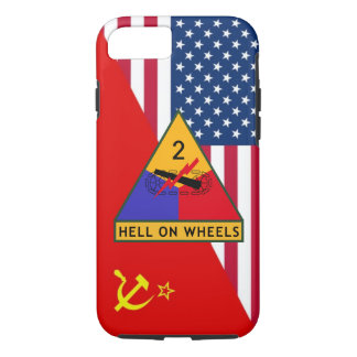 """2nd Armored Division """"Cold War"""" Paint Scheme iPhone 7 Case"""