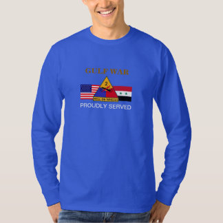 2ND ARMORED DIVISION GULF WAR LONG SLEEVE T-SHIRT