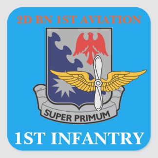 2ND BATTALION 1ST AVIATION 1ST INFANTRY STICKERS