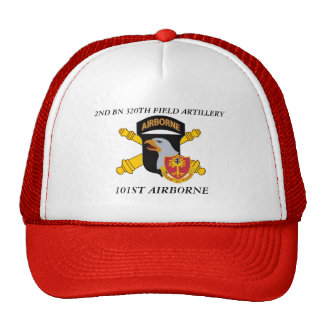 2ND BATTALION 320TH FIELD ARTILLERY 101ST ABN HAT