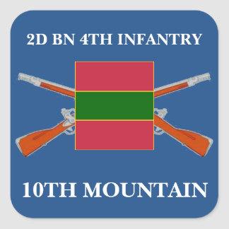 2ND BATTALION 4TH INFANTRY 10TH MOUNTAIN STICKERS