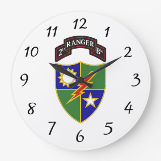 2nd Battalion - 75th Ranger Regiment - Wall Clock