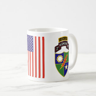 2nd Battalion - 75th Ranger w/Tab Mug