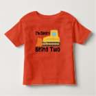 2nd Birthday Bulldozer Construction Truck Toddler Toddler T-shirt
