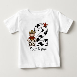 2nd Birthday Cowboy Baby T-Shirt