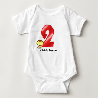 2nd Birthday Monkey t-Shirt