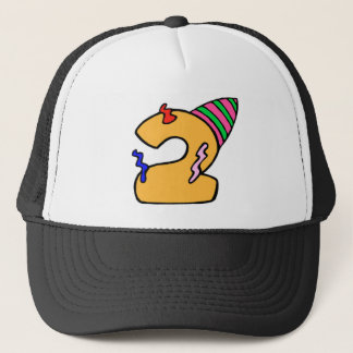 2nd Birthday Party Trucker Hat