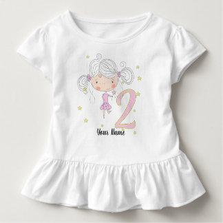 2nd Birthday Princess Toddler T-shirt
