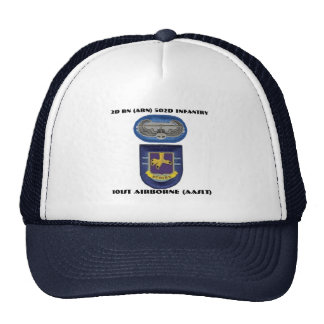 2ND BN (ABN) 502ND INFANTRY 101ST AIRBORNE HAT