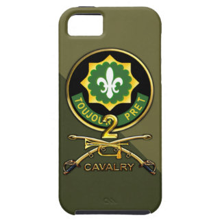 2nd Cavalry Regiment iPhone 5 Cases
