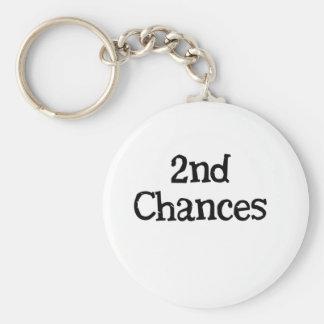 2nd chances keychain