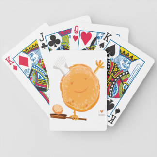 2nd Crepe Day - Appreciation Day Bicycle Playing Cards