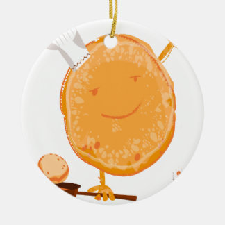 2nd Crepe Day - Appreciation Day Ceramic Ornament