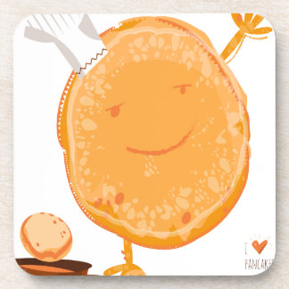 2nd Crepe Day - Appreciation Day Drink Coaster