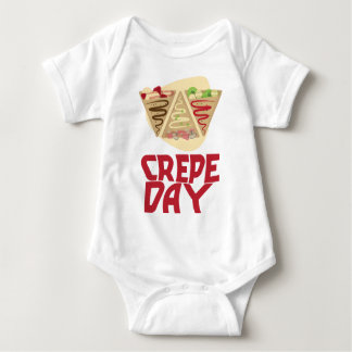 2nd February - Crepe Day - Appreciation Day Baby Bodysuit