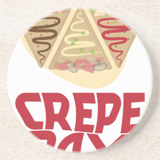 2nd February - Crepe Day - Appreciation Day Coaster