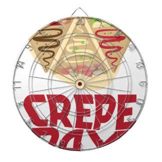 2nd February - Crepe Day - Appreciation Day Dartboard
