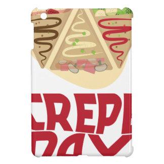 2nd February - Crepe Day - Appreciation Day iPad Mini Case