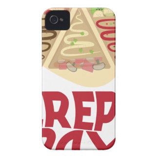 2nd February - Crepe Day - Appreciation Day iPhone 4 Case-Mate Cases