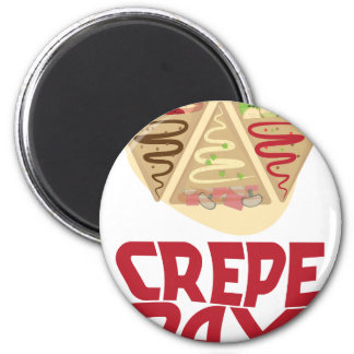2nd February - Crepe Day - Appreciation Day Magnet