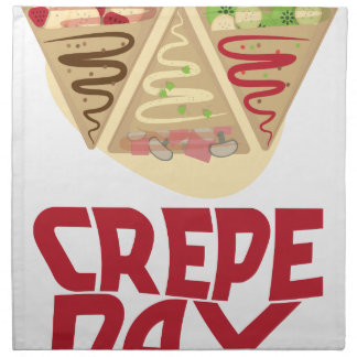 2nd February - Crepe Day - Appreciation Day Napkins