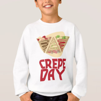 2nd February - Crepe Day - Appreciation Day Sweatshirt