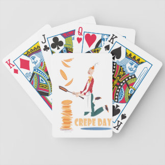2nd February - Crepe Day Bicycle Playing Cards
