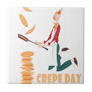 2nd February - Crepe Day Ceramic Tiles