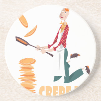 2nd February - Crepe Day Coaster