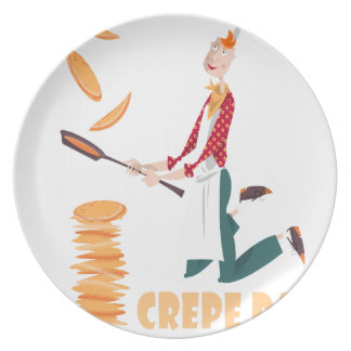 2nd February - Crepe Day Dinner Plate