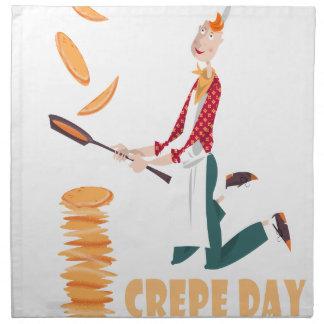 2nd February - Crepe Day Napkin