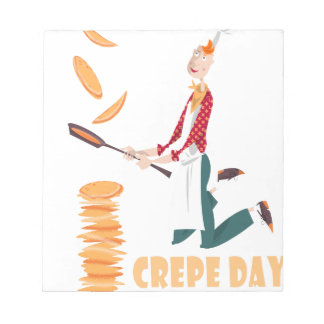 2nd February - Crepe Day Notepad