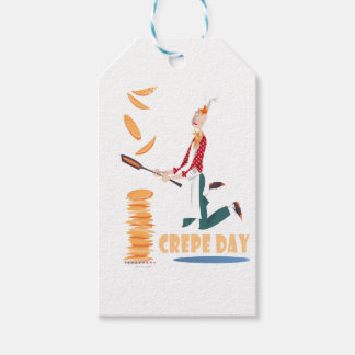 2nd February - Crepe Day Pack Of Gift Tags