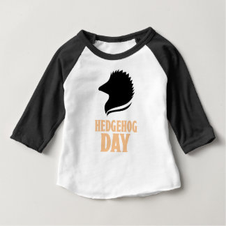 2nd February - Hedgehog Day Baby T-Shirt