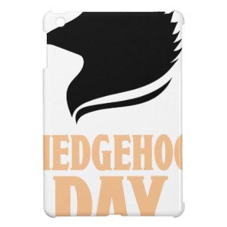 2nd February - Hedgehog Day iPad Mini Cases