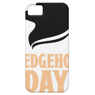 2nd February - Hedgehog Day iPhone 5 Case