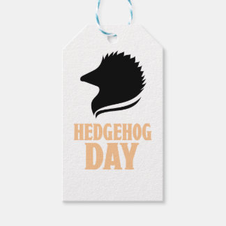 2nd February - Hedgehog Day Pack Of Gift Tags
