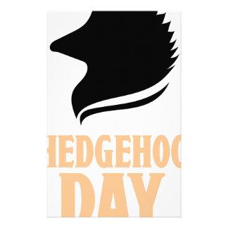 2nd February - Hedgehog Day Stationery