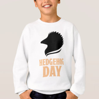 2nd February - Hedgehog Day Sweatshirt