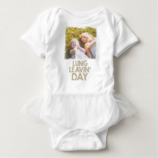 2nd February - Lung Leavin' Day - Appreciation Day Baby Bodysuit