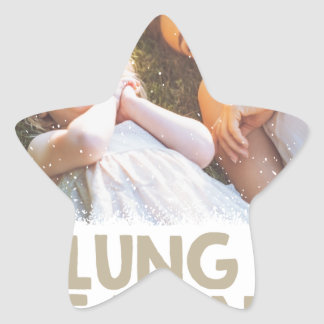 2nd February - Lung Leavin' Day - Appreciation Day Star Sticker