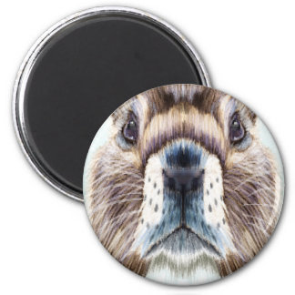 2nd February - Marmot Day - Appreciation Day 2 Inch Round Magnet