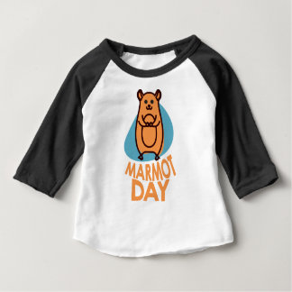 2nd February - Marmot Day - Appreciation Day Baby T-Shirt